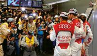 Sportwagen-WM, Audi-Fahrer, Box, Fotografen