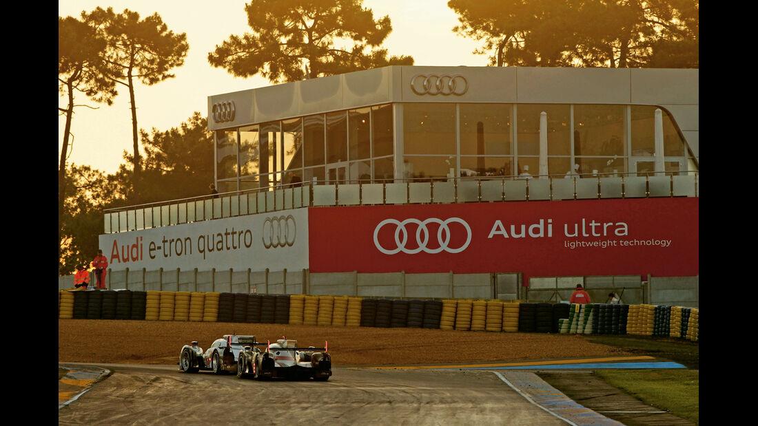 Sportwagen-WM, Audi-Marketing, Tribüne