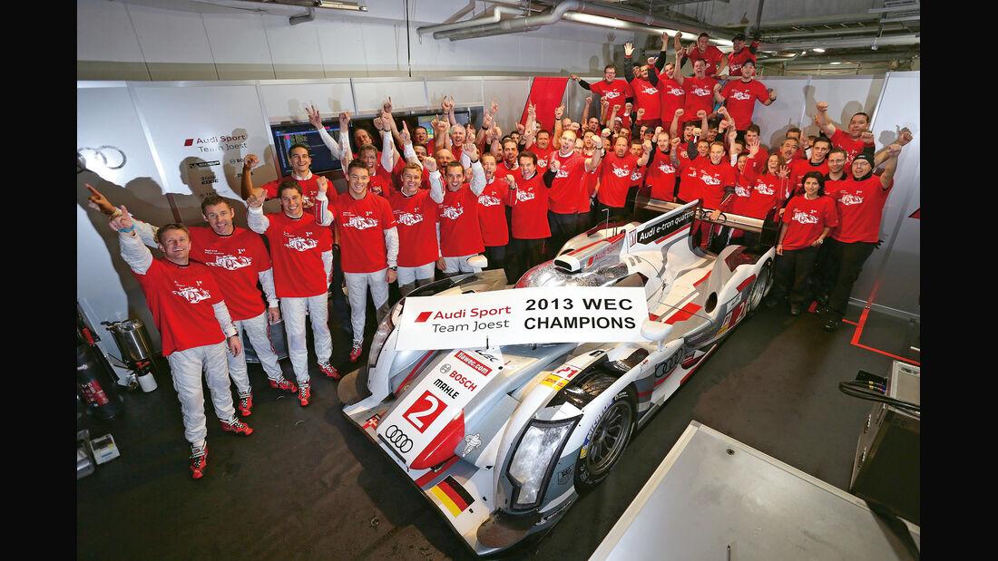 Sportwagen-WM, Audi, Team