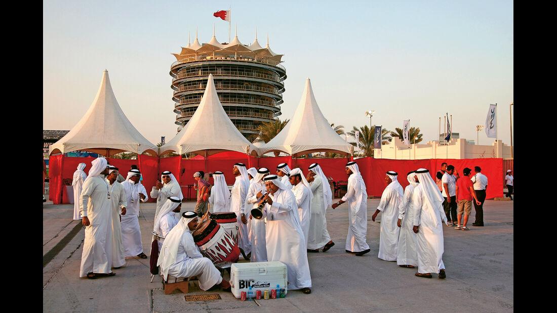 Sportwagen-WM, Bahrain, Musiker
