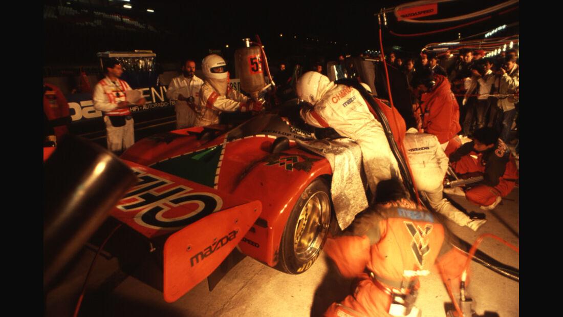 Sportwagen-WM, Le Mans, Boxenstopp