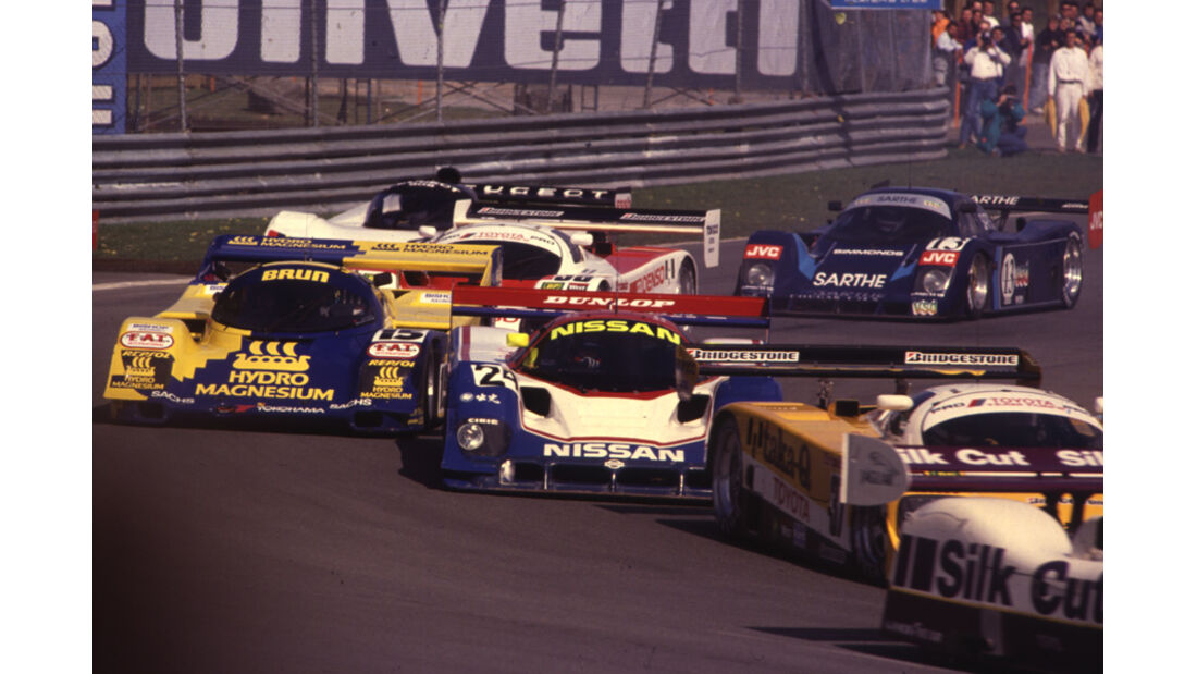 Sportwagen-WM, Nürburgring, Rennszene