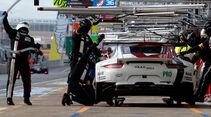 Sportwagen-WM, Porsche, Boxenstopp