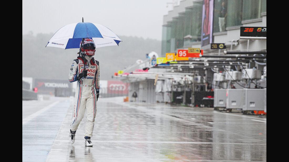 Sportwagen-WM, Rennfahrer, Regenpause