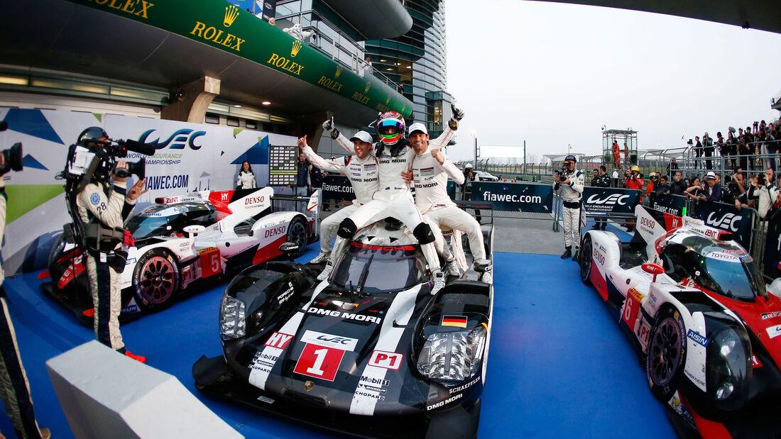 Sportwagen-WM - Shanghai 2016 - China - WEC - Porsche