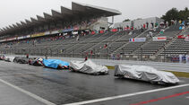 Sportwagen-WM, Startaufstellung, Regenschutz
