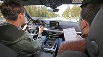 Sprachbedienung Test AMS1317 Audi Q5
