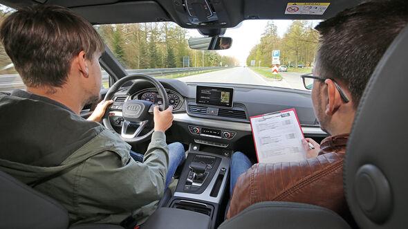 Sprachbedienung Test AMS1317 Audi Q5