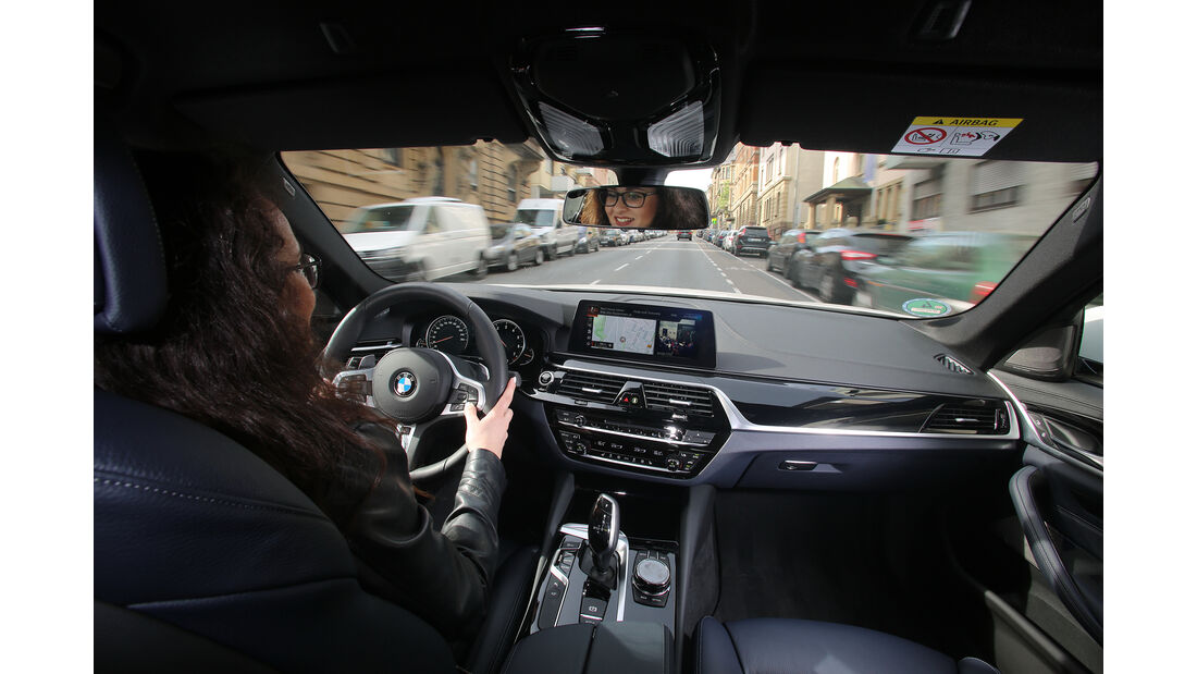 Sprachbedienung Test AMS1317 BMW 5er