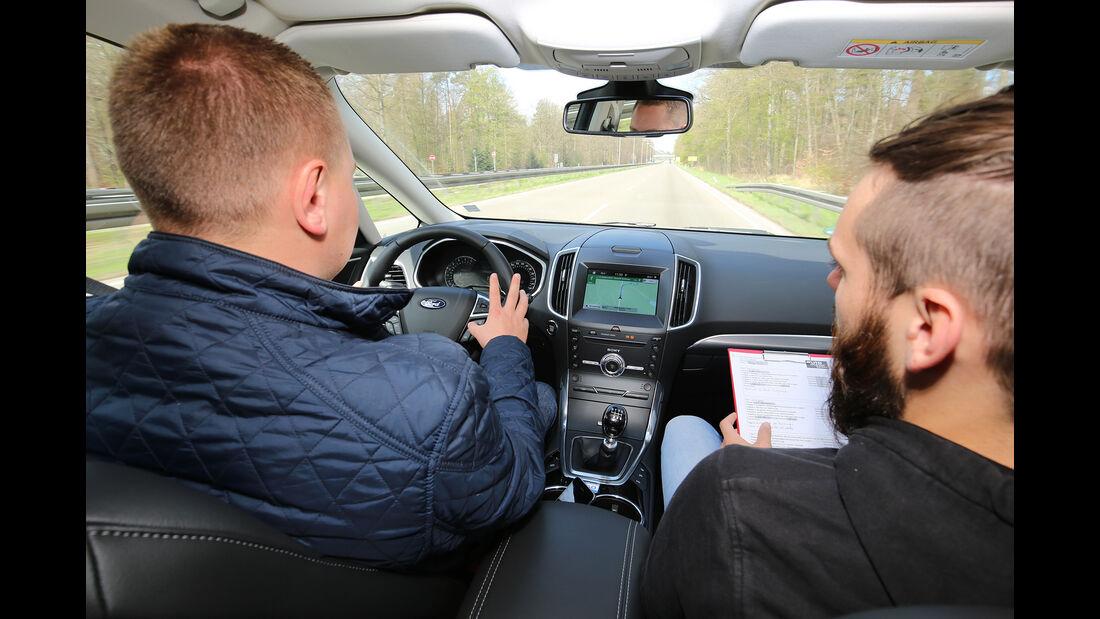 Sprachbedienung Test AMS1317 Ford S-Max