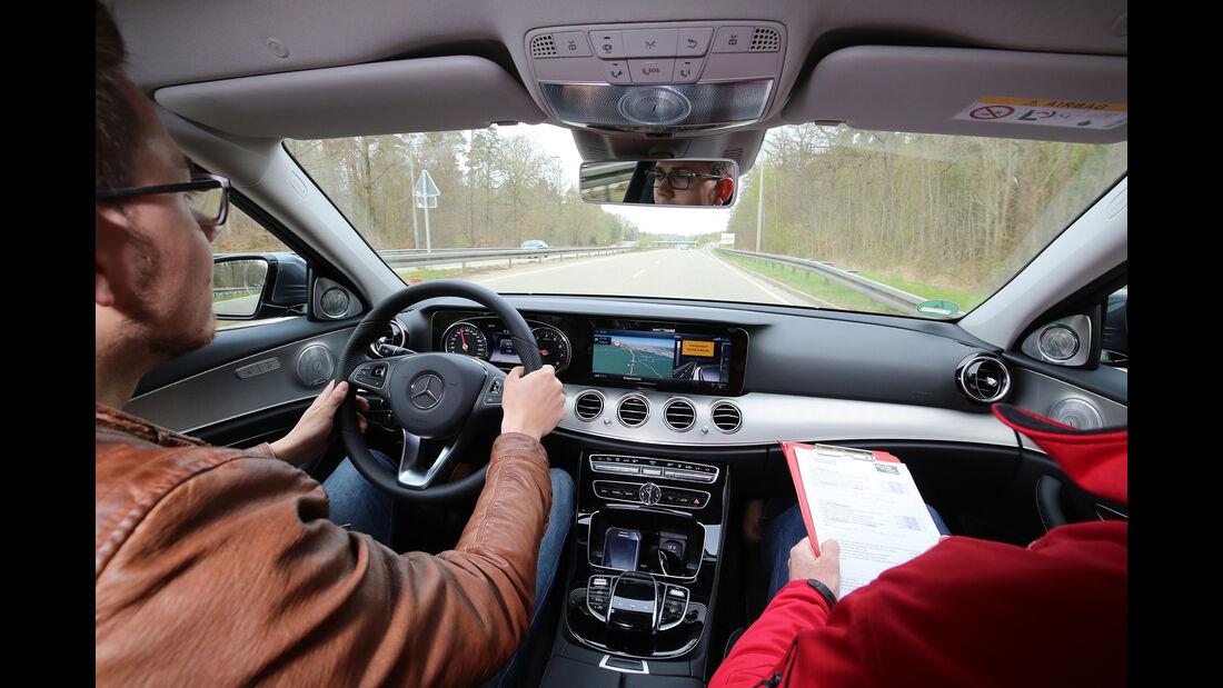 Sprachbedienung Test AMS1317 Mercedes E-Klasse