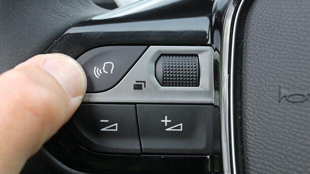 Sprachbedienung Test AMS1317 Peugeot 5008