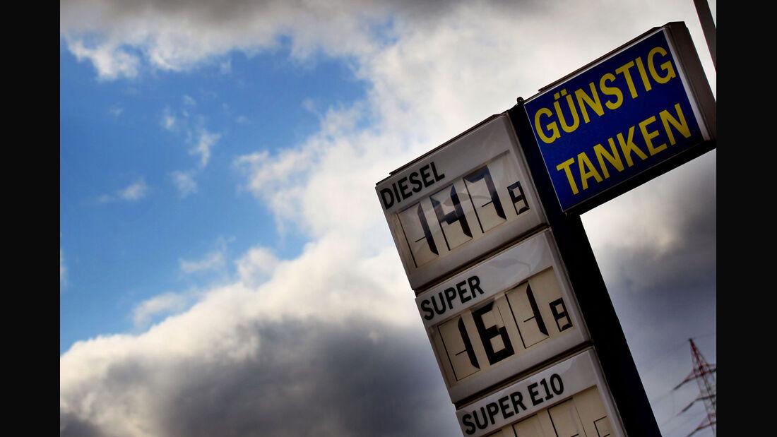Spritpreise Tankstelle