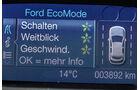 Spritspar-Anzeigen, Ford