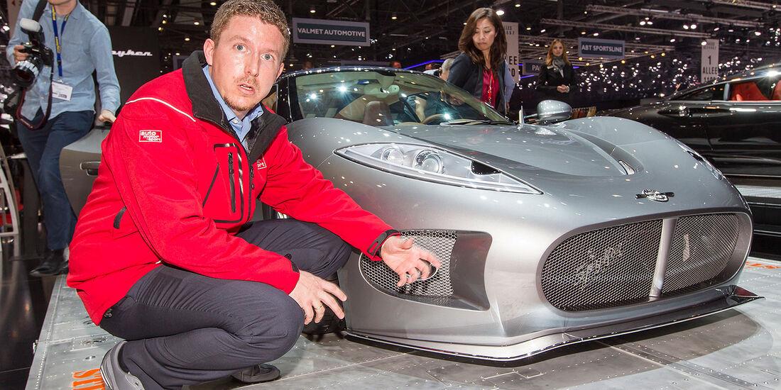Spyker B6 Venator Sitzprobe Jens Dralle