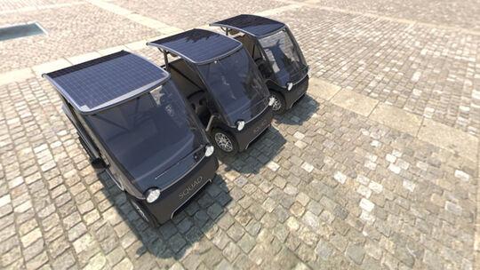 Squad Mobility Solar Quad