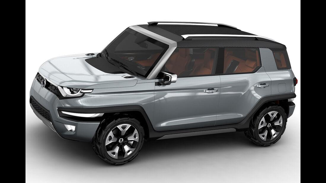 SsangYong XAV Concept, IAA 2015
