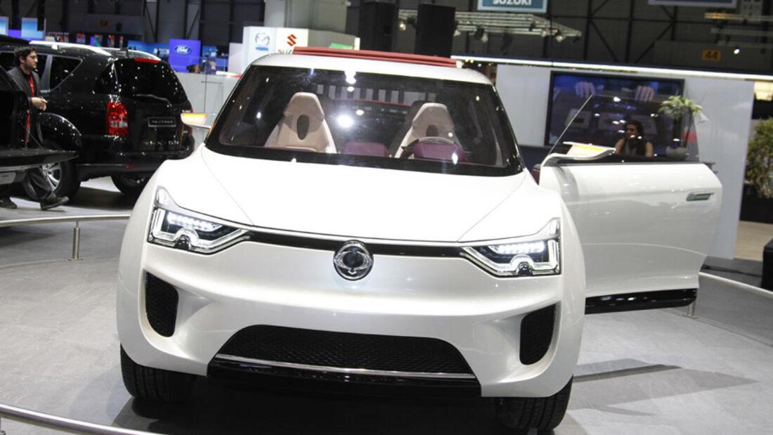 SsangYong XIV-2 Auto-Salon Genf 2012