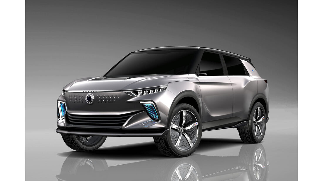 Ssangyong E-SIV Concept Genf 2018