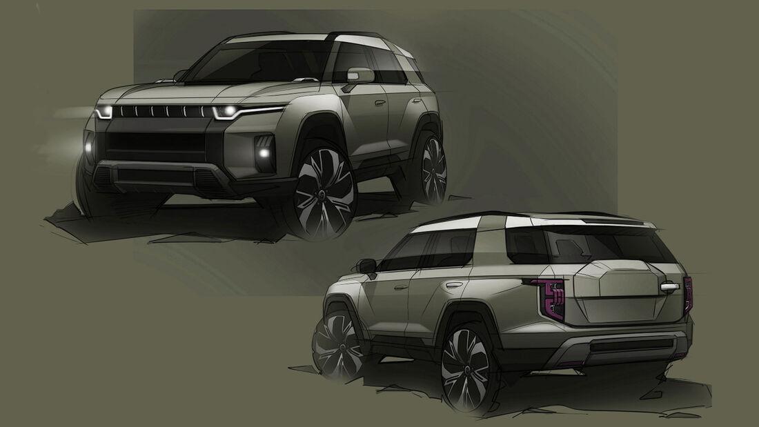 Ssangyong J100 e-SUV Concept
