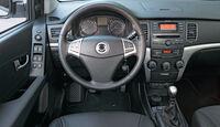 Ssangyong Korando 2.0 E-Xdi, Cockpit