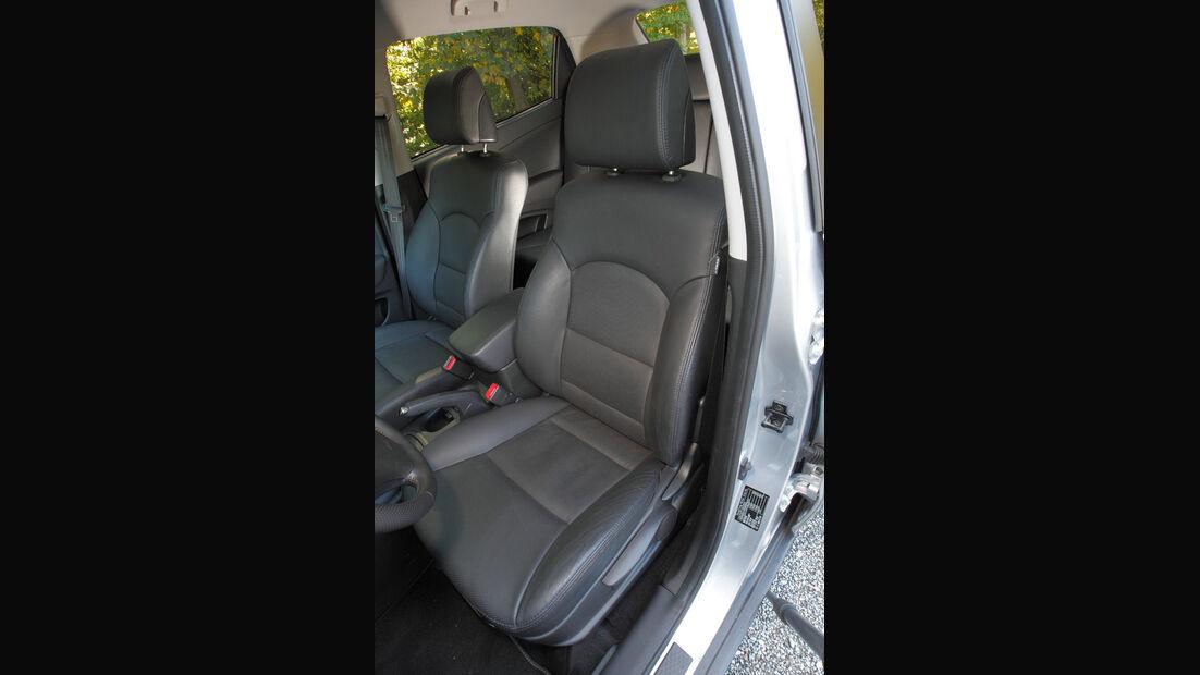 Ssangyong Korando 2.0 E-Xdi, Fahrersitz