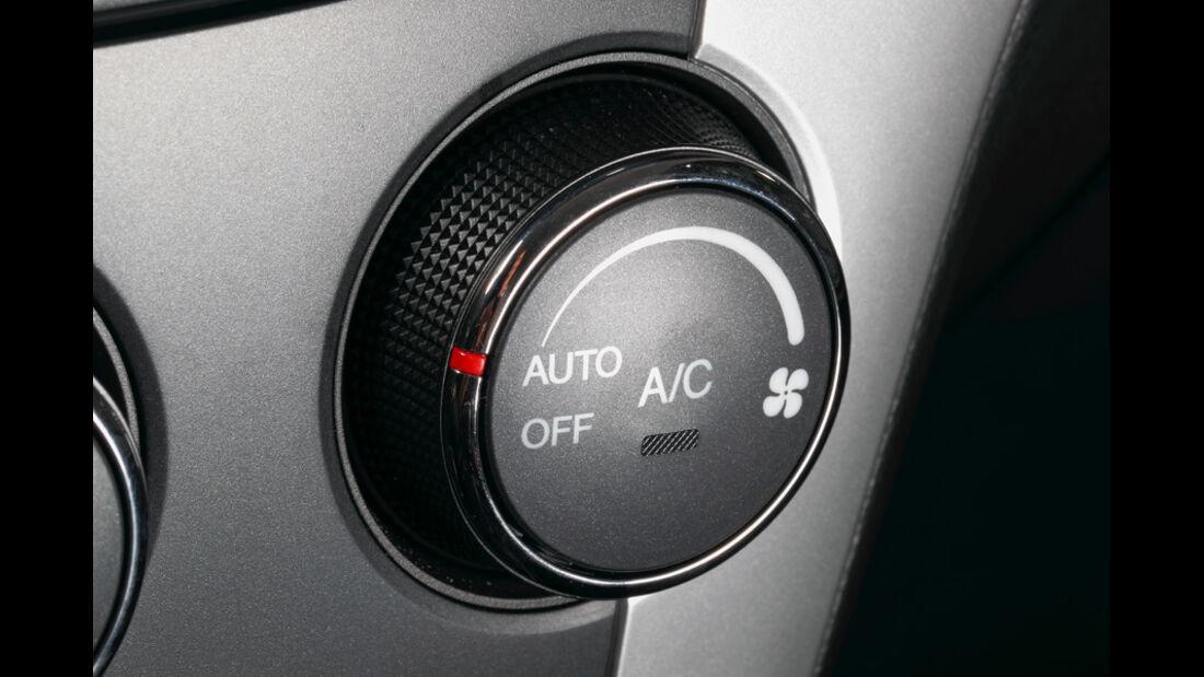 Ssangyong Korando 2.0 E-Xdi, Regler Klimaanlage