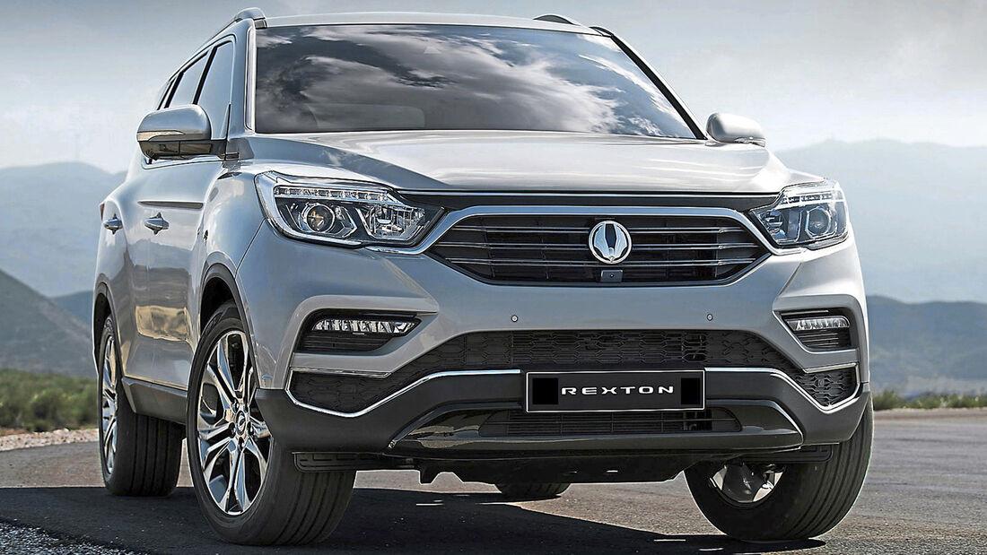 Ssangyong Rexton, Best Cars 2020, Kategorie K Große SUV/Geländewagen