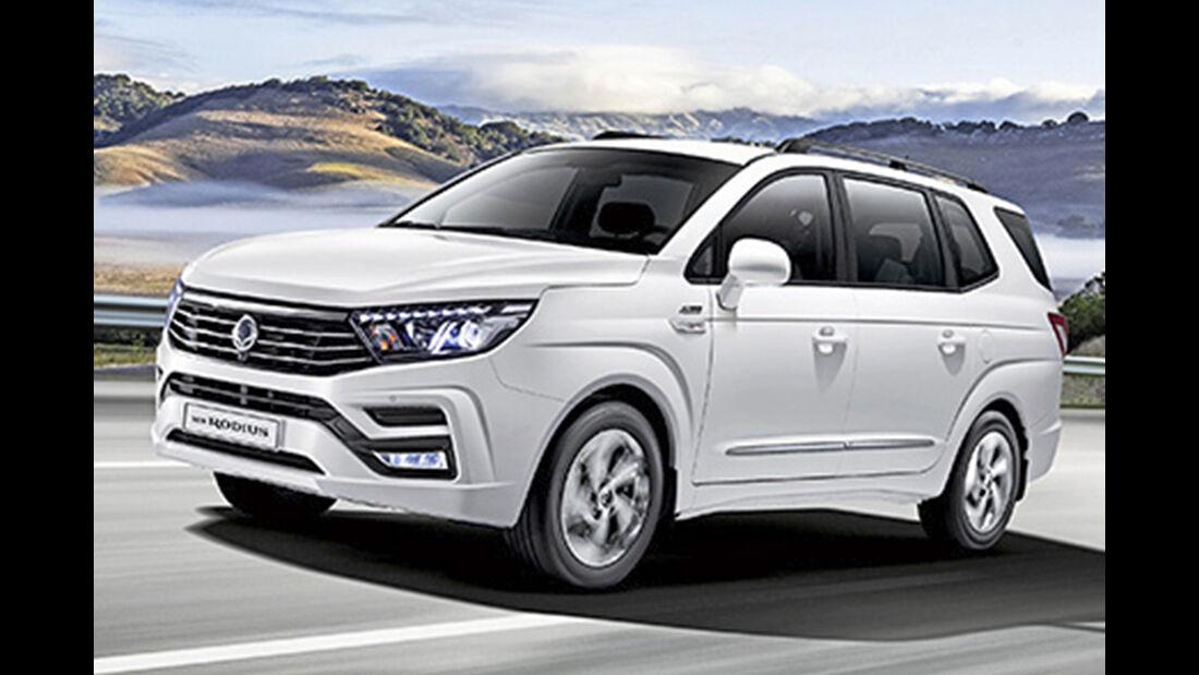 Ssangyong Rodius, Best Cars 2020, Kategorie L Vans