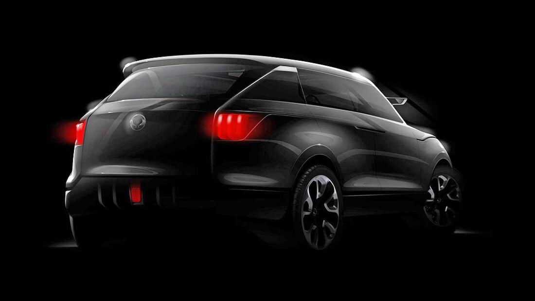 Ssangyong SUV Concept XV 1