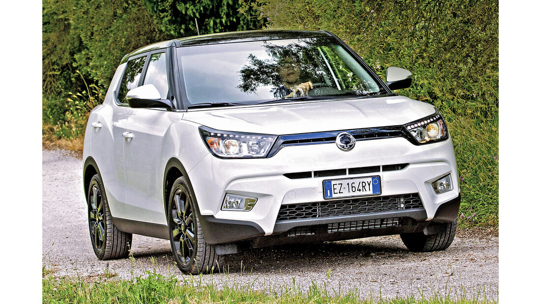 Ssangyong Tivoli, Best Cars 2020, Kategorie I Kompakte SUV/Geländewagen