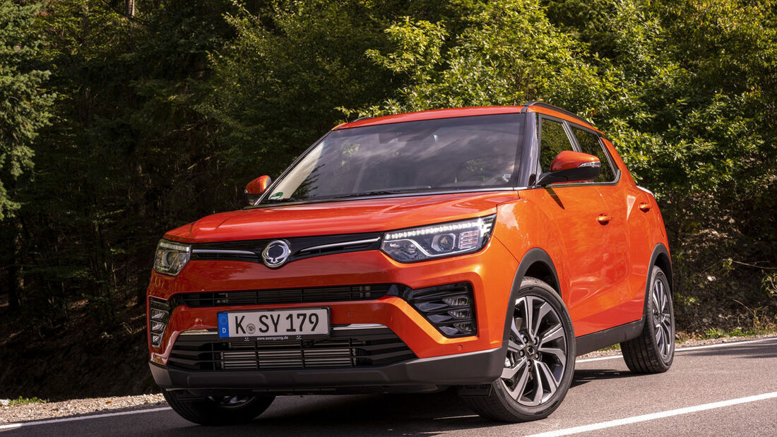 Ssangyong Tivoli Facelift Modelljahr 2020