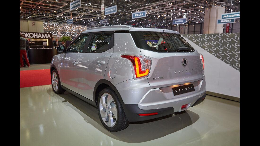 Ssangyong Tivoli - SUV - Genfer Autosalon 2015