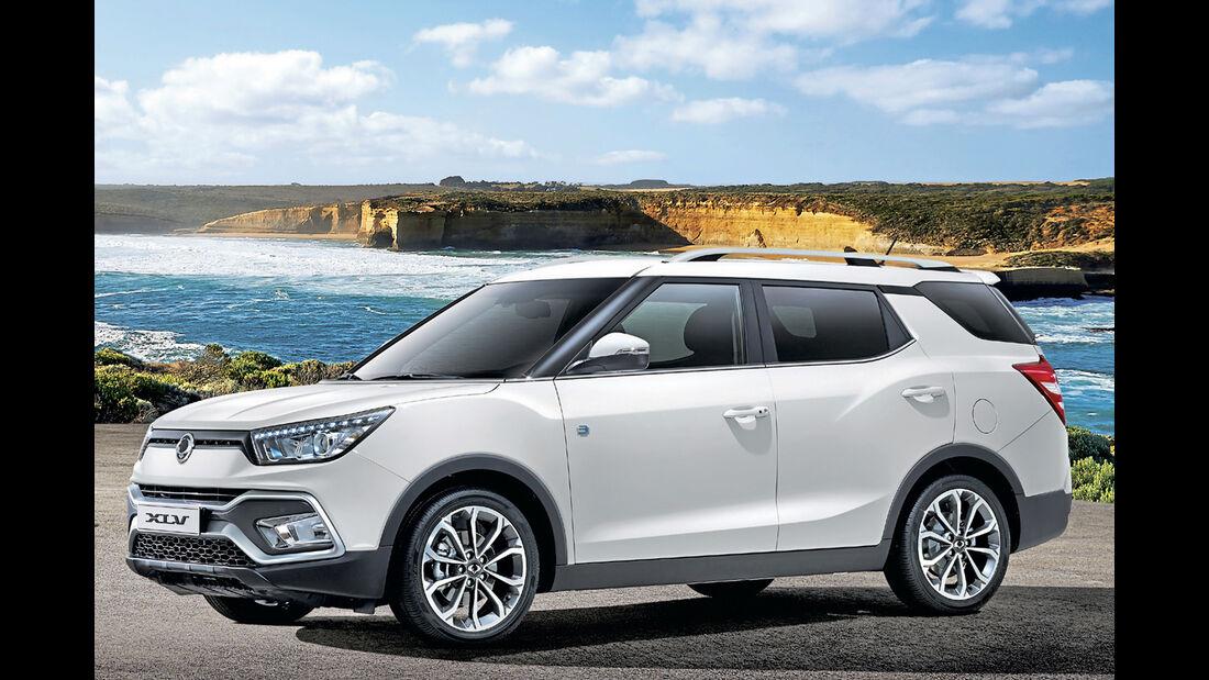 Ssangyong XLV, Best Cars 2020, Kategorie I Kompakte SUV/Geländewagen