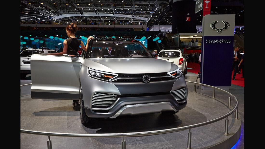 Ssangyong XLV Concept, Genfer Autosalon, Messe, 2014