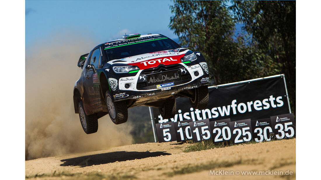 Stéphane Lefebvre - Rallye Australien 2015