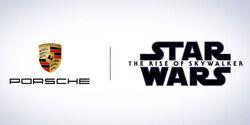 Star Wars-Kooperation mit Porsche Taycan
