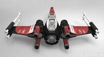 Star Wars X-Wing im F1-Design - Ferrari