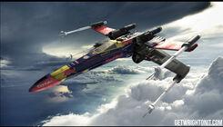 X-Wing im F1-Look