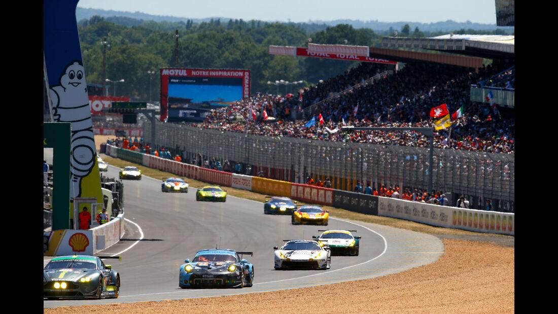 Start - 24h-Rennen Le Mans 2017 - Smastag - 17.6.2017