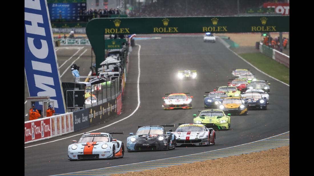 Start - 24h-Rennen Le Mans 2018 - Samstag - 16.6.2018