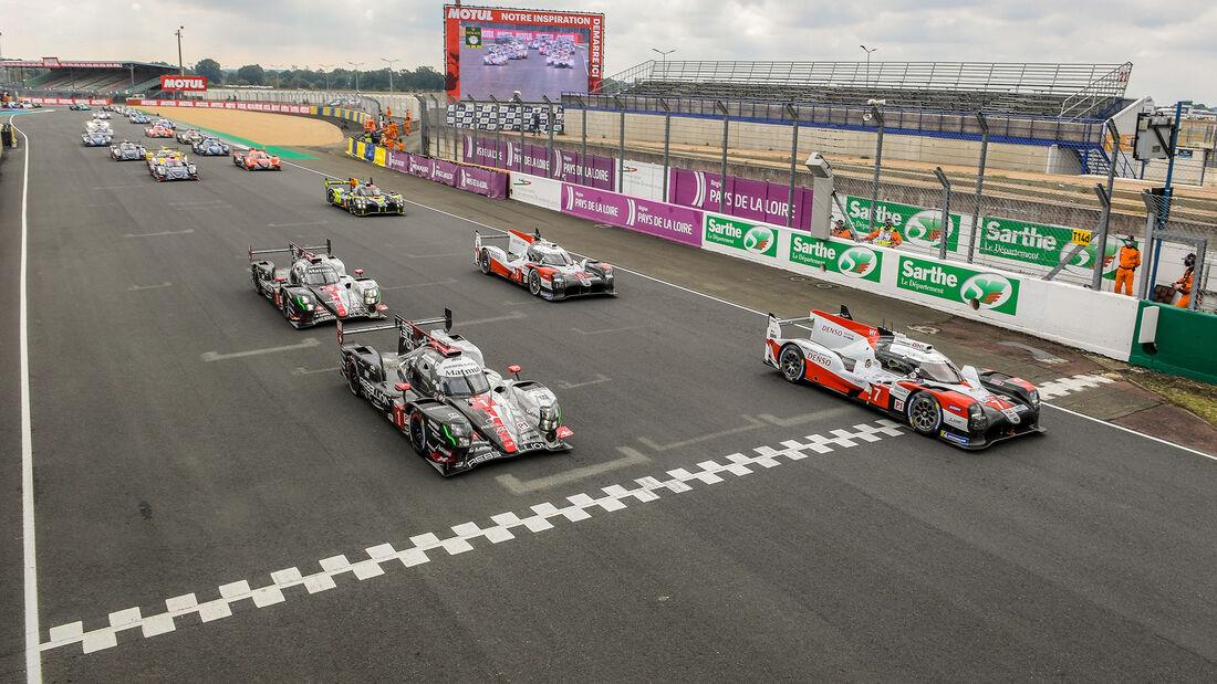 Start - 24h-Rennen - Le Mans 2020