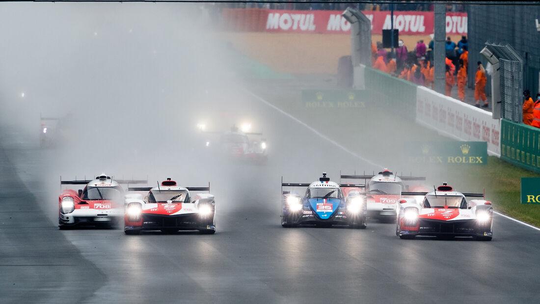 Start - 24h-Rennen Le Mans 2021