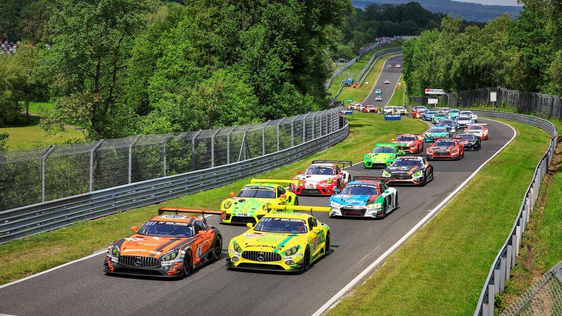 Start - 24h Rennen Nürburgring - 22. Juni 2019