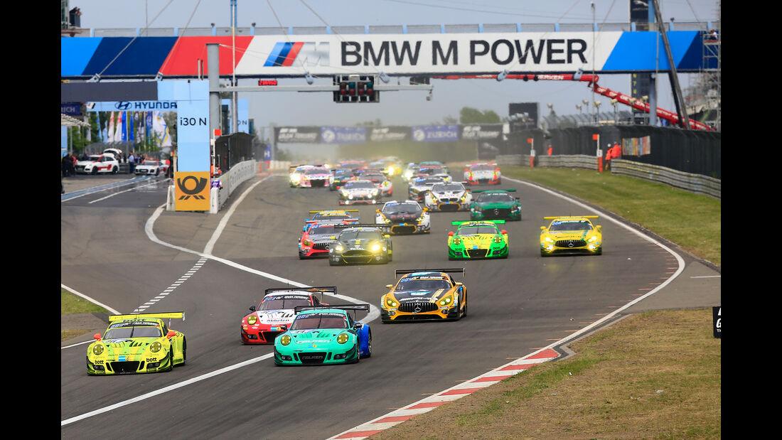 Start - 24h-Rennen Nürburgring - Nordschleife - Samstag - 12.5.2018