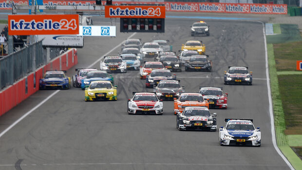 Start - DTM 2015 - Hockenheim