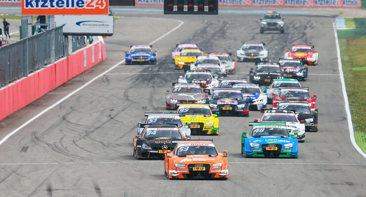 Start - DTM Hockenheim 2015