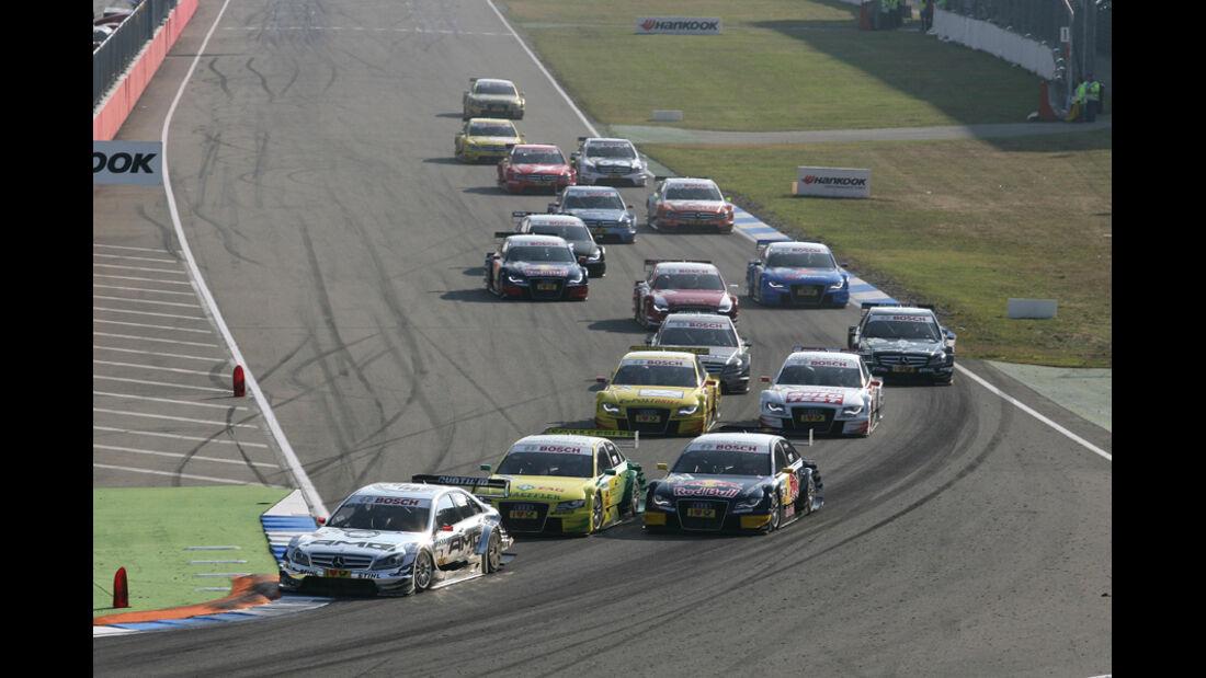 Start DTM Hockenheim Finale 2011