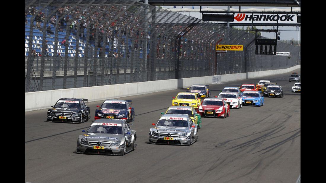 Start DTM Lausitzring 2011