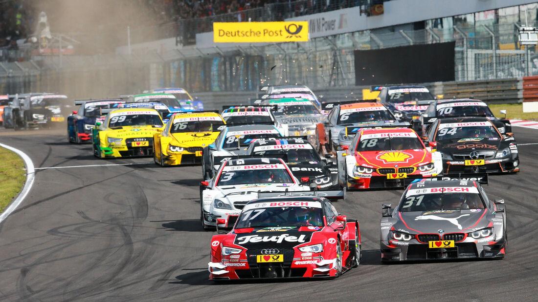 Start - DTM - Nürburgring - 2. Rennen - Sonntag - 27.9.2015